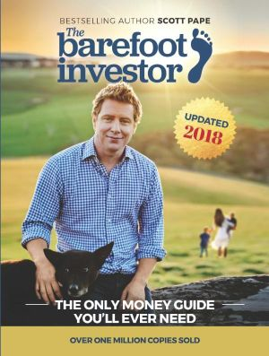 The book cover of the finance book The Barefoot Investor.