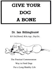 Give Your Dog A Bone, book cover