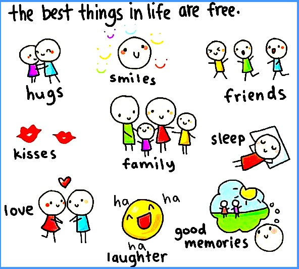 The best things in life are free: frugal fun time with family and friends